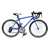 "Ammaco Velocity Boys 14 Speed Road Sports Bike 24"" Wheel Blue"