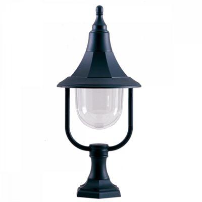 Black Polycarbonate Pedestal - 1 x 100W E27