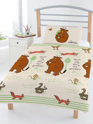 The Gruffalo Woodland Junior Duvet Cover Set
