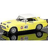 SCALEXTRIC Slot Car C3746 MGB - Thoroughbred Sports Car Series