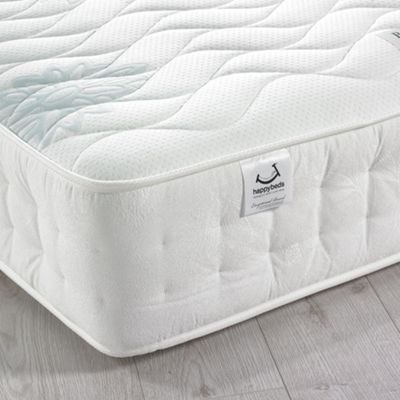 Happy Beds Brooklyn 1400 Pocket Spring Memory Foam Classic Fillings Mattress - 3ft Single
