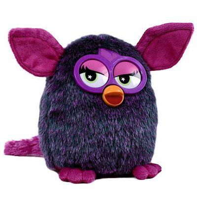 Furby 20cm Soft Toy - Pink/Purple