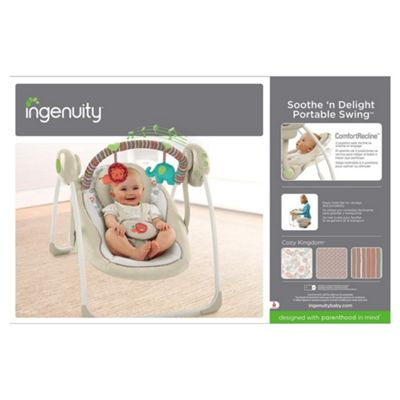 Ingenuity Soothe n Delight Portable Baby Swing