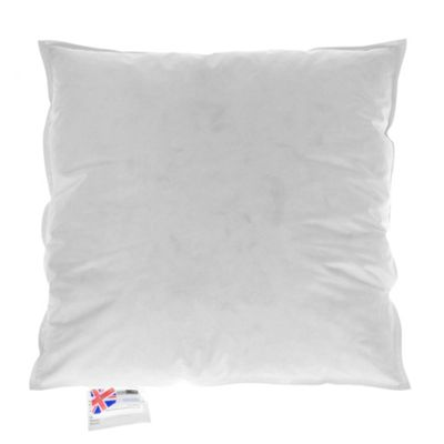 Homescapes Goose Feather & Down Cushion Pad Insert - 14 x 14 Inches