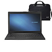 "ASUS Pro P2540UA-XO0198T-OSS1 15.6"" Laptop Intel Core i3-7100U 4GB 1TB Windows 10 with Laptop Case"