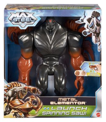 Max Steel Metal Elementor Figure 12-Inch - Action Figures