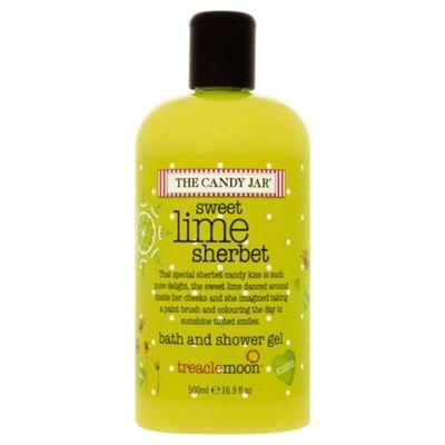 Treaclemoon Cndyjar Lime Bth & Shower Gel 500Ml