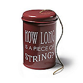 Burgon & Ball Twine in a Tin in Burgundy GYOTWRED