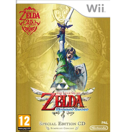 The legend of Zelda :Skyward Sword