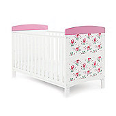 Obaby Grace Inspire Cotbed - Cottage Rose
