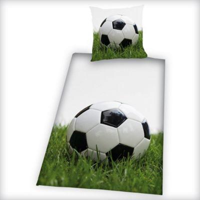 Football Single Duvet Cover and Pillowcase Set Cotton