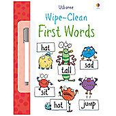 ELC Usborne Wipe Clean First Words Activity Book
