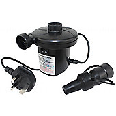 Powerful Electric Airbed Pump With 3 Valve Adaptors / Tornado 1 / 130 Watts /
