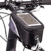BTR Bike Bag Pannier With Mobile Phone Holder - Large with Rain Cover