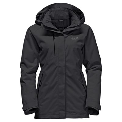 Jack Wolfskin Ladies Northern Edge Jacket Black XL