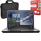 "Lenovo ThinkPad E560 - 20EVA02SUK - 15.6"" Laptop With BullGuard Internet Security & Case"