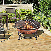 Peaktop Outdoor Garden Patio Heater Steel Fire Pit Firepit FP35