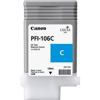 Canon Lucia EX PFI-106C Ink Cartridge 6622B001AA