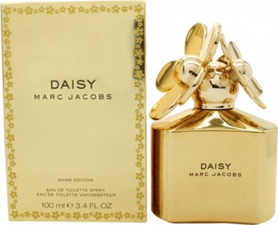 Marc Jacob Daisy Shine Eau de Toilette (EDT) 100ml Spray - Gold Edition For Women