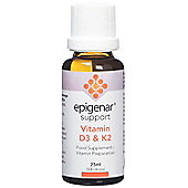 Epigenar Support Vitamin D3 & K2 - 25ml