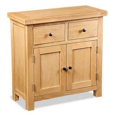 Helford Oak Small Sideboard - Sideboard