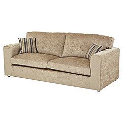 Taunton Large 3 Seater Sofa, Taupe