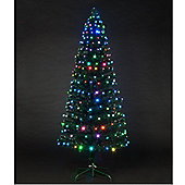 6ft Colour Changing Snowbright Tree