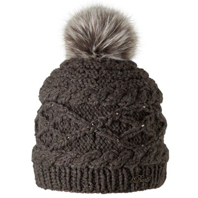Barts Ladies Claire Beanie Heather Brown One Size