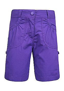 Mountain Warehouse Shore Girls Shorts - Purple