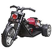 6V Twin Motor Chopper Bike Black