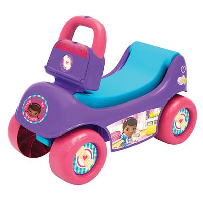 Disney Doc McStuffins 2-in-1 Happy Hauler Ride-on