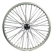 Wilkinson 20 x 1.75 Front Alloy BMX 48H Wheel in Black - 14mm