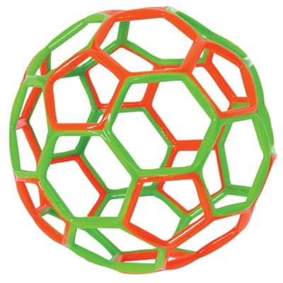 Gowi Toys Hex Ball (Orange/Green)