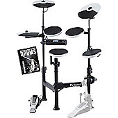 Roland TD-4KP Portable V-Drums Electronic Drum Kit With FREE Backbone Drums Tutorial Book And Play Along C.D Worth £15.99