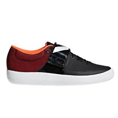 adidas adizero Shotput Track & Field Throwing Spike Shoe Black - UK 8.5