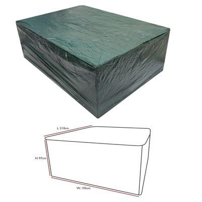 Durable Waterproof Outdoor Medium Oval Patio Set Cover