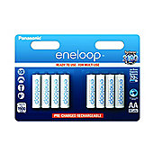 Panasonic Eneloop Rechargeable 1900mAh Batteries AA 8 pack
