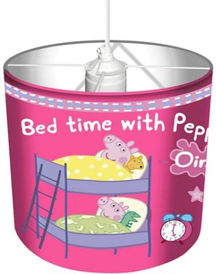 Buy peppa pig lamp and ceiling shade from our lamp shades range tesco peppa pig lamp and ceiling shade aloadofball Image collections