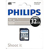 Philips Micro SDHC Class 10 Memory Card 32GB - R165793