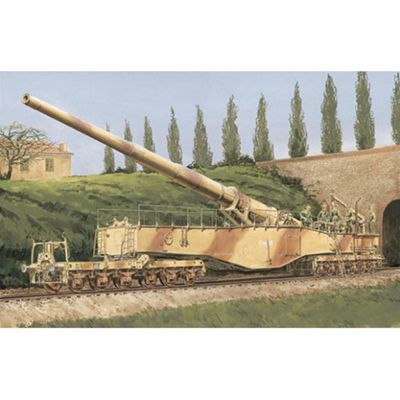 Dragon 6200 German Railway Gun 28Cm K5E 1:35 Military