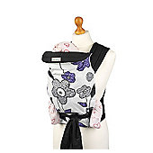 Palm and Pond Mei Tai Baby Carrier – Purple/Grey Floral