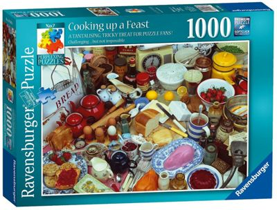 Perplexing Puzzles - Cooking Up A Feast - 1000pc