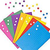 Self-Adhesive Foam Mosaic Squares (Pack of 1950)
