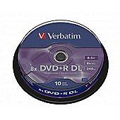 DVD+R Double Layer Matt Silver 8X