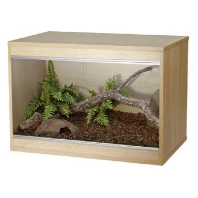 Viv-exotic repti-home vivarium Large - Oak