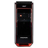 Acer Predator G3-605 Gaming Desktop Base Unit, Intel Core i7, 8GB RAM, 1TB + 120GB SSD, nVidia GTX 760 1.5GB Graphics, 500w PSU - Black