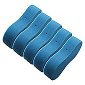 Large Blue Multipurpose Car / Household Cleaning Sponge - Pack of 5