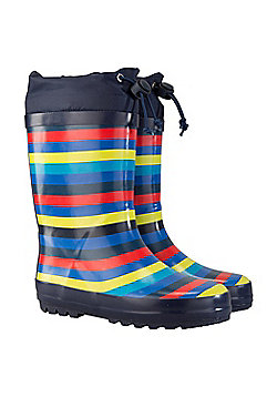 Mountain Warehouse SUNNY KIDS RUBBER WELLY - Navy