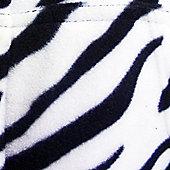 Zebra Hooded Onesie for Toddlers - Medium