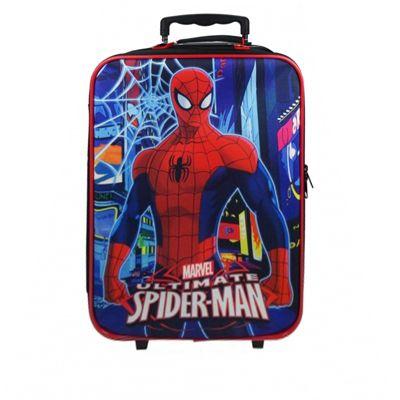 Marvel The Ultimate Spiderman 'Neon' Luggage Bag Set